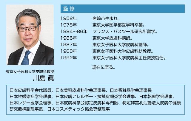 東京女子医科大学皮膚科教授 川島 眞 教授